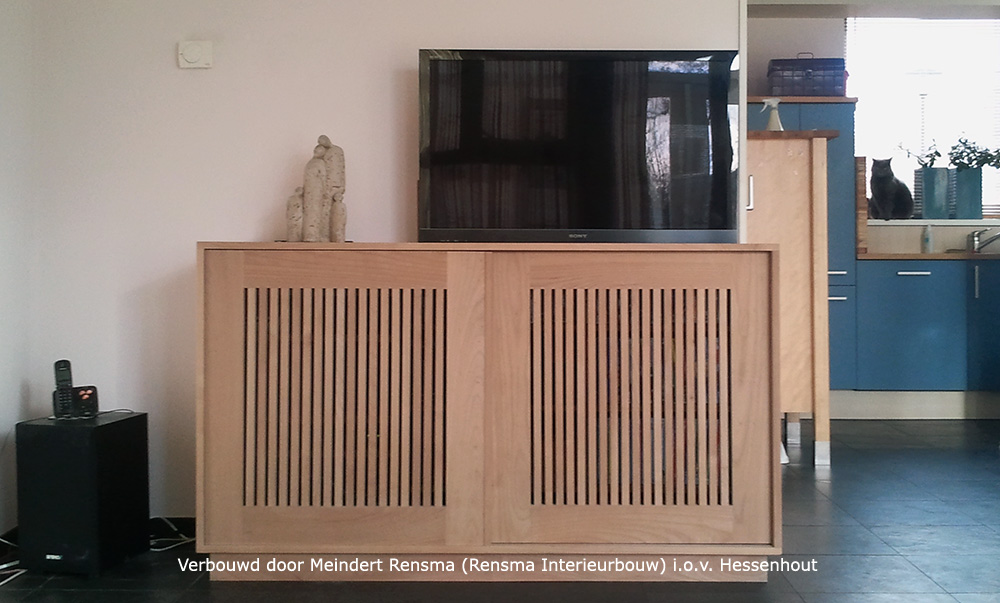 Tv Lift Kast : Kast verbouwd voor tv lift hessenhout